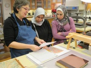 The Fellows with Mindy Dubansky, book conservator at the Metropolitan Museum of Art in New York City